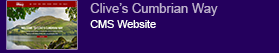 Web Design Clients - Clive's Cumbrian Way