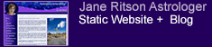 Web Design Clients - Jane Ritson Astrology